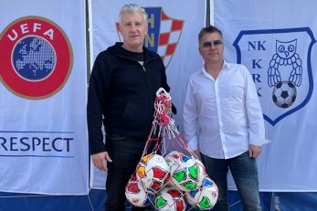 Davor Šuker i Denis Šikljan/Foto: HNS