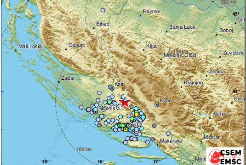 Kod Peručkog jezera jutros zabilježen umjereni potres magnitude 3,2 po Richteru