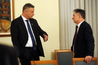 Tomislav Karamarko i Milorad Pupovac / Foto: D. KOVAČEVIĆ