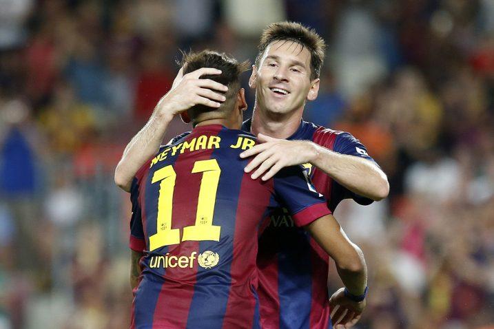 Leo Messi i Neymar/Foto REUTERS