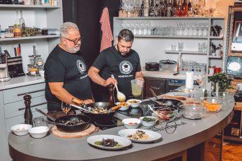 FOTO: Chef kuha doma