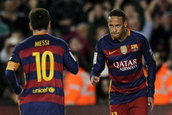 Leo Messi i Neymar/Foto: REUTERS