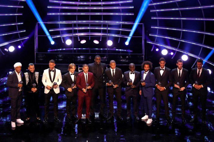 Fifa Fifpro World XI/Foto: REUTERS