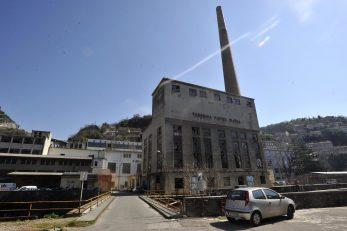 Energana u Harteri, bivšoj Tvornici papira Rijeka
