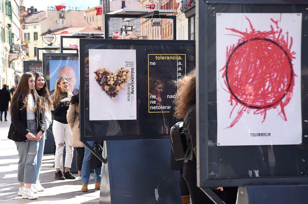 S otvorenja izložbe u Rijeci / Foto S. DRECHSLER