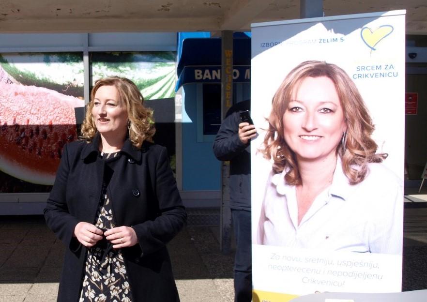 Nezadovoljna kako trenutna politička garnitura upravlja gradom - Vesna Car Samsa