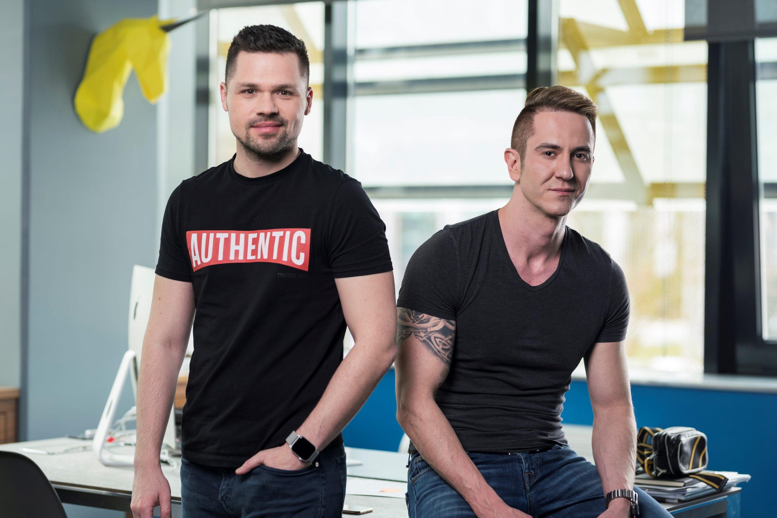 Od skromnih početaka do globalnog uspjeha - Alan Sumina i Zoran Vučinić / Foto NANOBIT