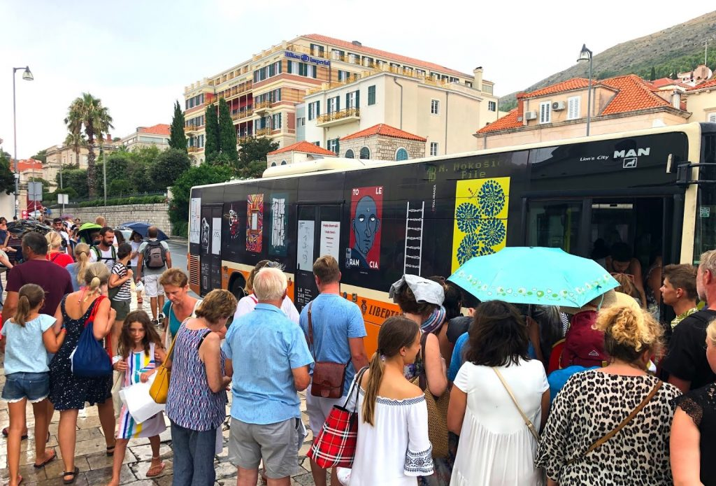 »Tolerancija« u Dubrovniku na autobusima / foto TOLERANCE PROJECT