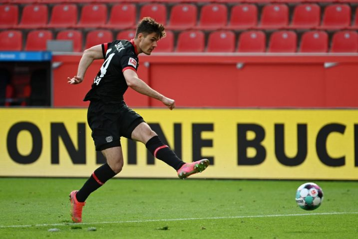 Patrik Schick (Bayer Leverkusen)/Foto REUTERS