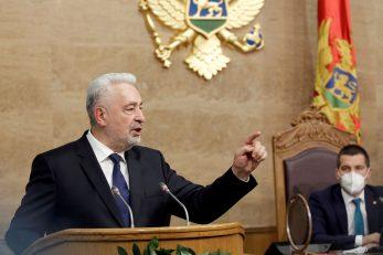 Crnogorski premijer Zdravko Krivokapić / Reuters