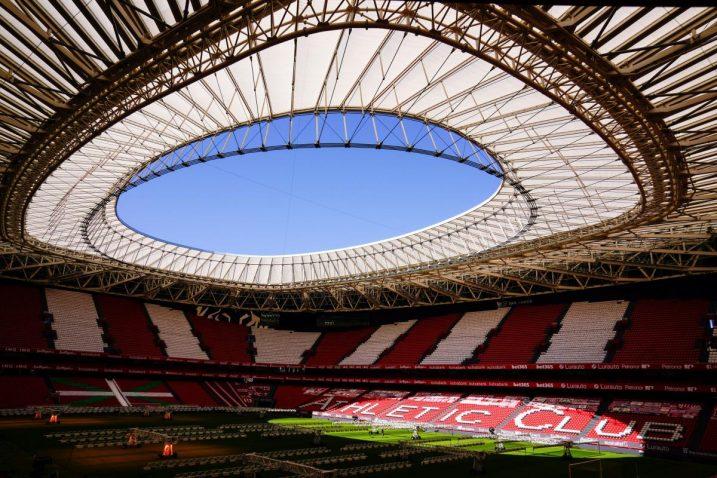 Stadion San Mames u Bilbau/Foto REUTERS