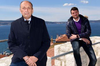 Novi Vinodolski je danas grad po mjeri suvremenog života - gradonačelnik Velimir Piškulić i zamjenik gradonačenika Tomislav Cvitković