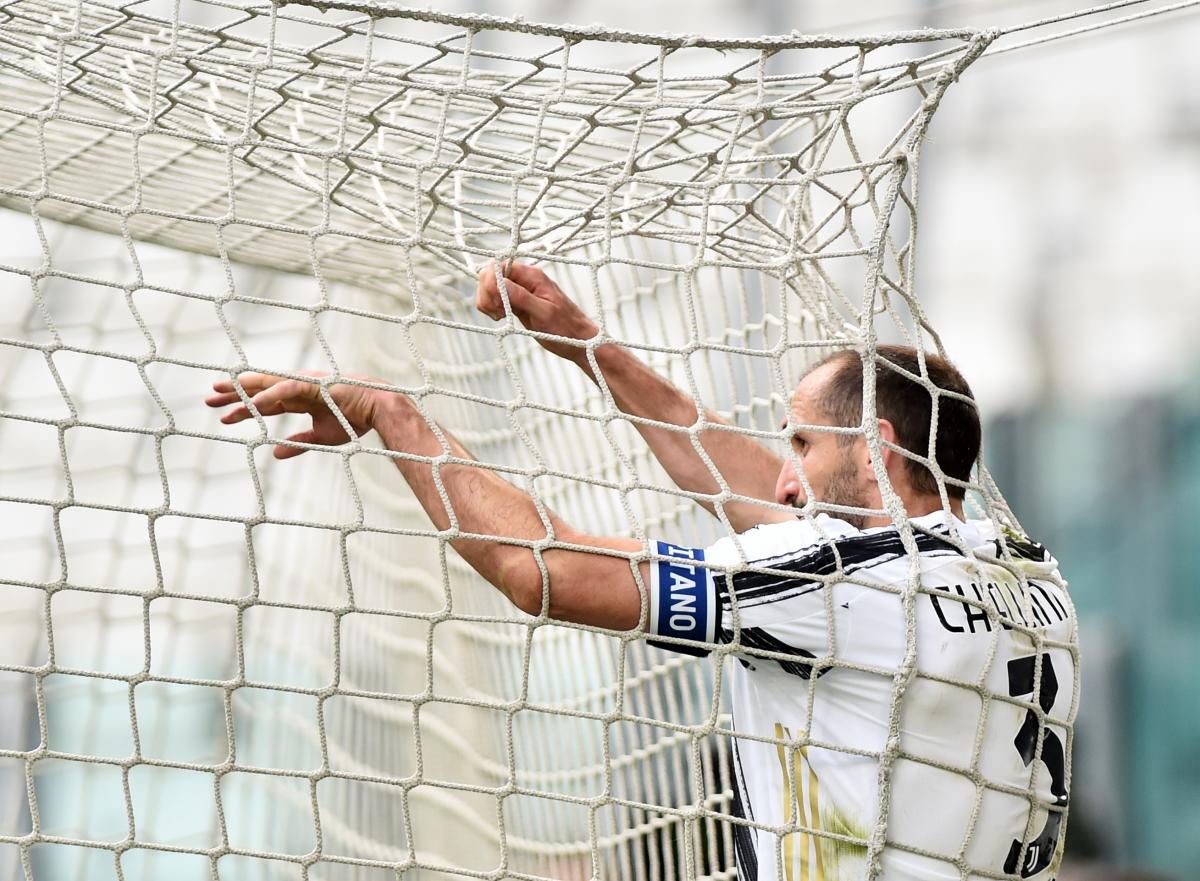 Juventusov Giorgio Chiellini/Foto REUTERS