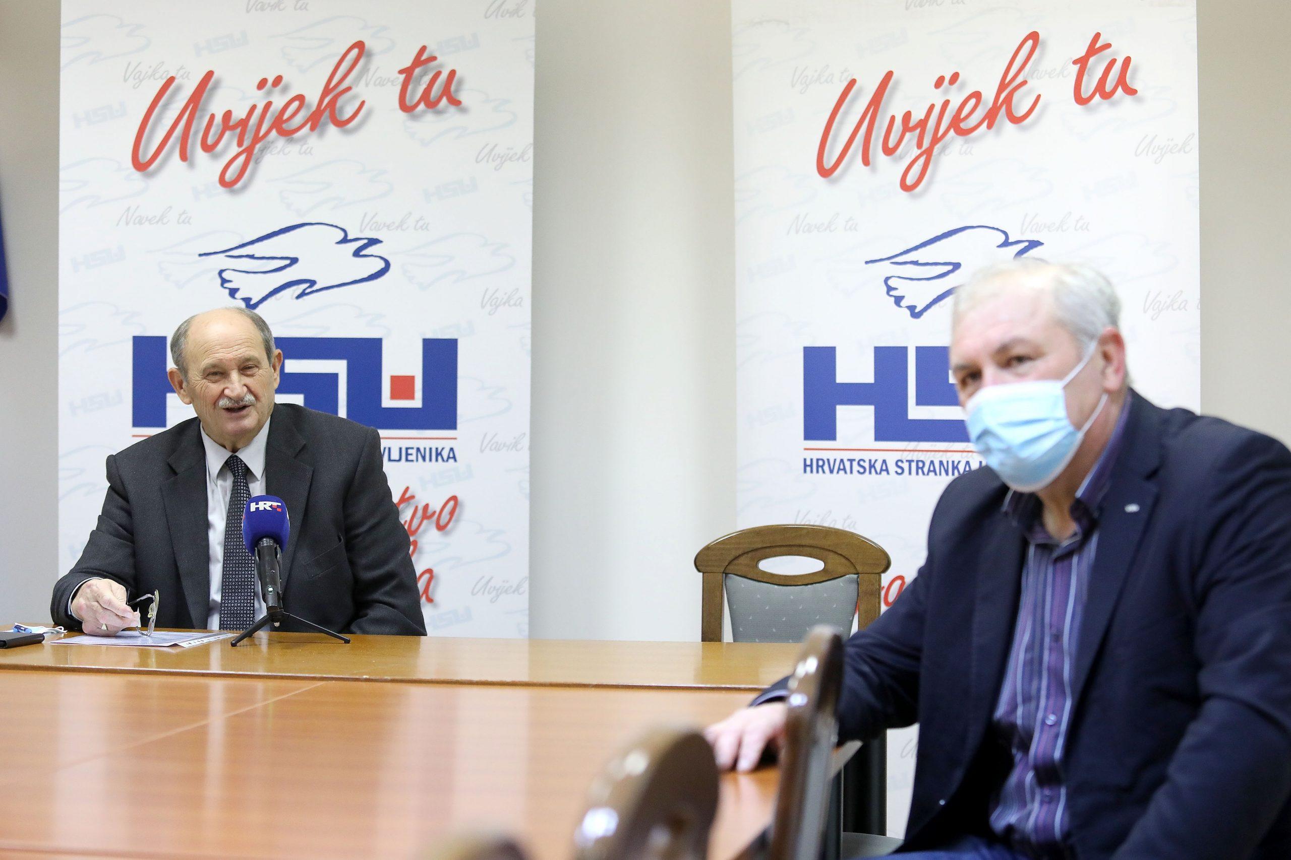 Veselko Gabričević i Silvano Hrelja / Photo: Patrik Macek/PIXSELL