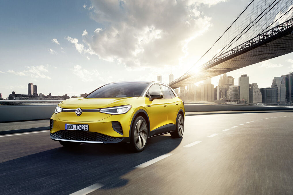 Pro model - doseg do 522 km / Foto VW