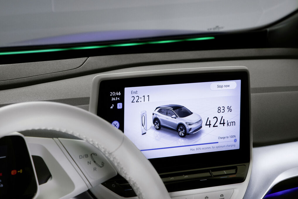 Središnji ekran ima dijagonalu 12 inča / Foto VW