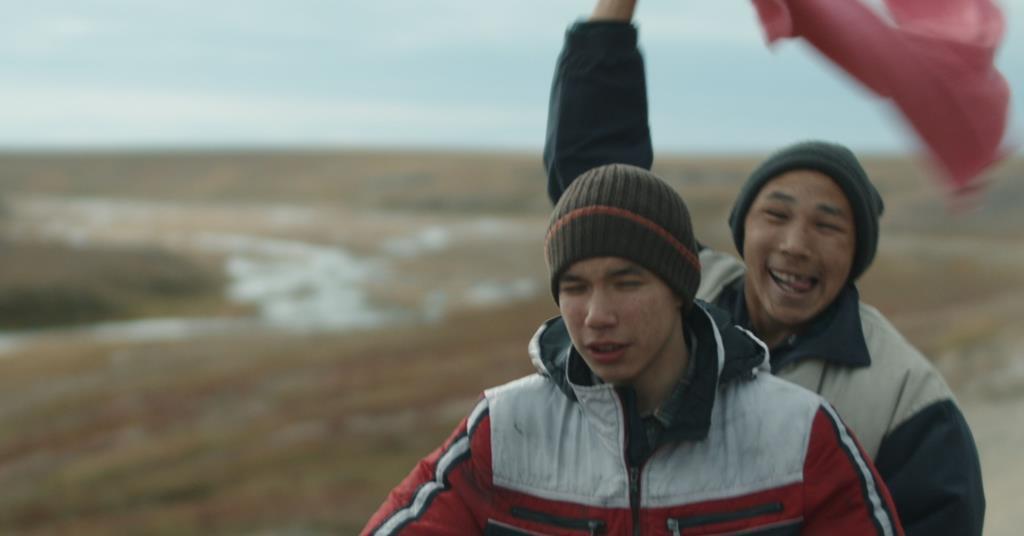 """Scena iz filma """"Mladi kitolovac"""" Filipa Jurjeva"""