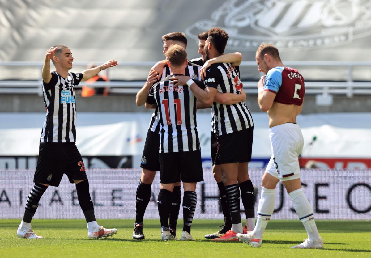 Slavlje igrača Newcastlea/Foto: REUTERS