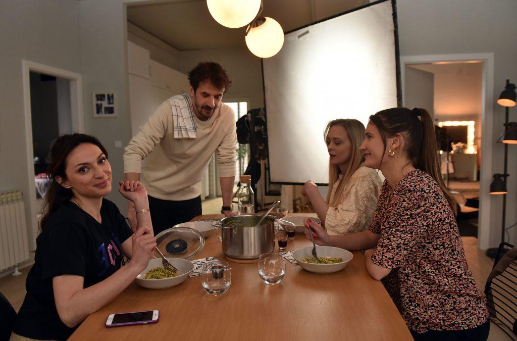"""Pala prva klapa TV-serije """"Minus i plus"""" / Snimio Davor KOVAČEVIĆ"""