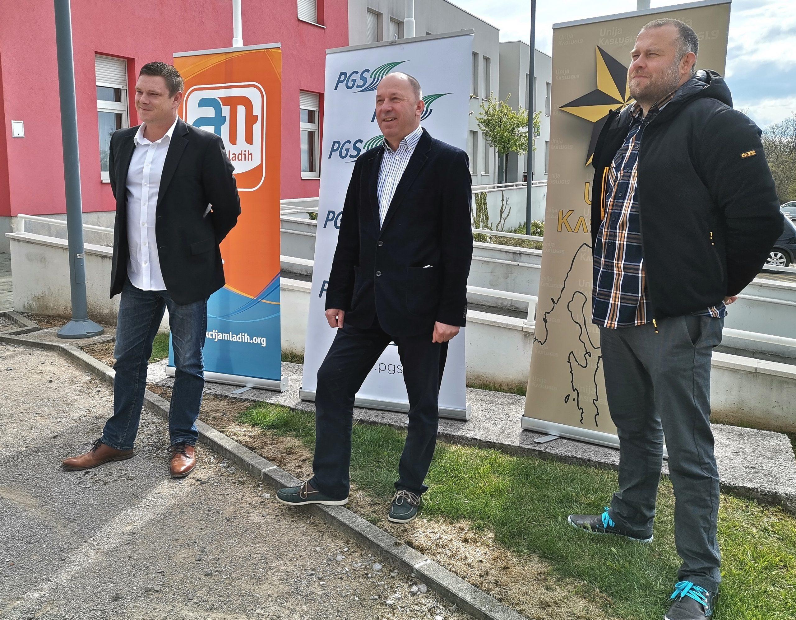 Darjan Buković, Mladen Prenc i Dominik Rubeša / Foto Marina Kirigin
