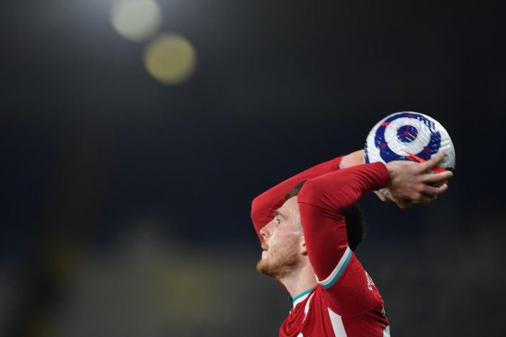 Andrew Robertson (Liverpool)/Foto REUTERS