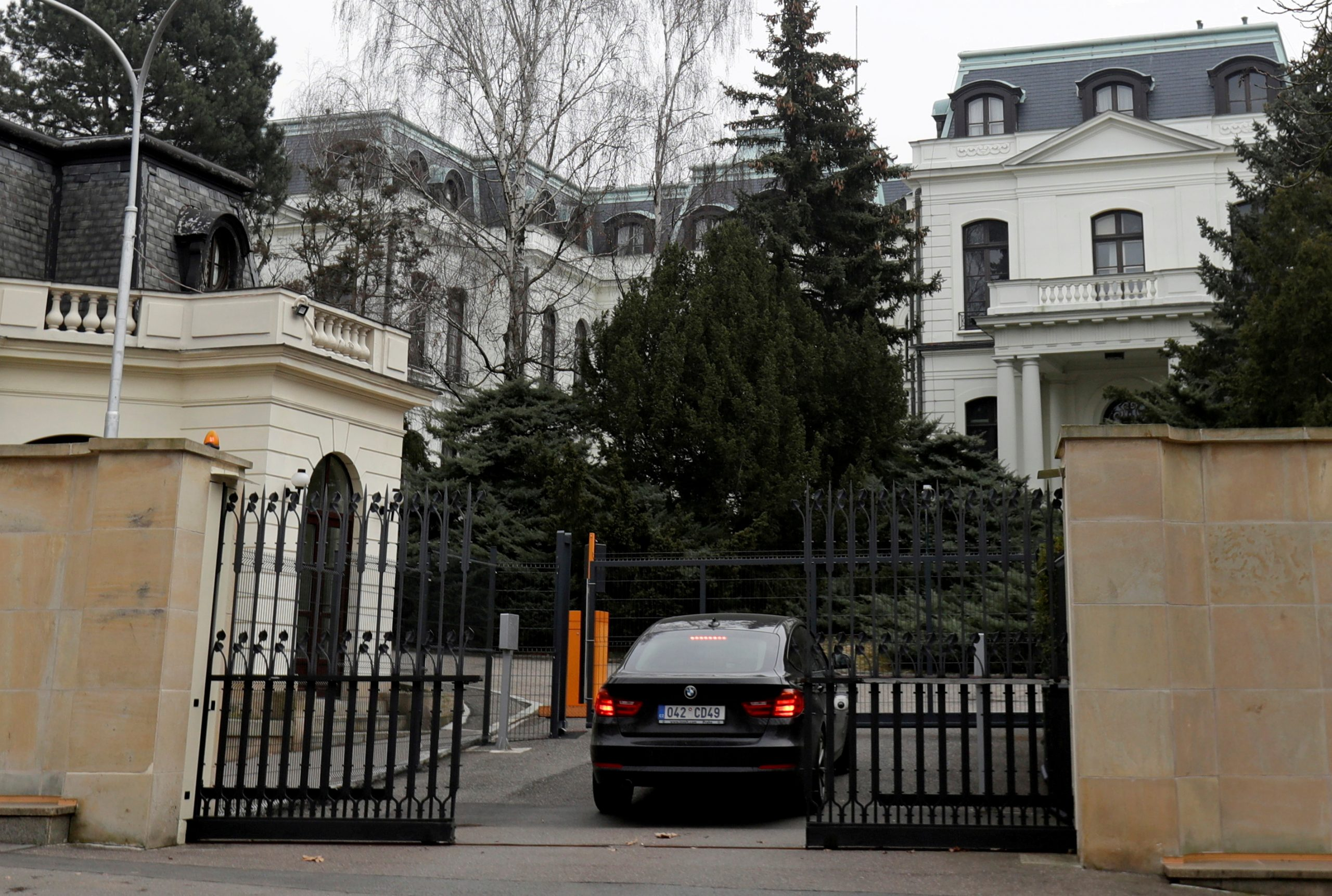 Rusko veleposlanstvo u Pragu, foto: REUTERS/David W Cerny