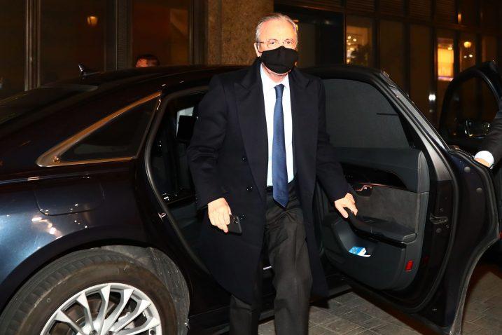Florentino Perez noćas je gostovao na radiju Cadena Ser/Foto REUTERS