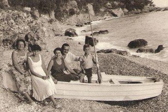 Obitelj Grlić - fotografija iz knjige