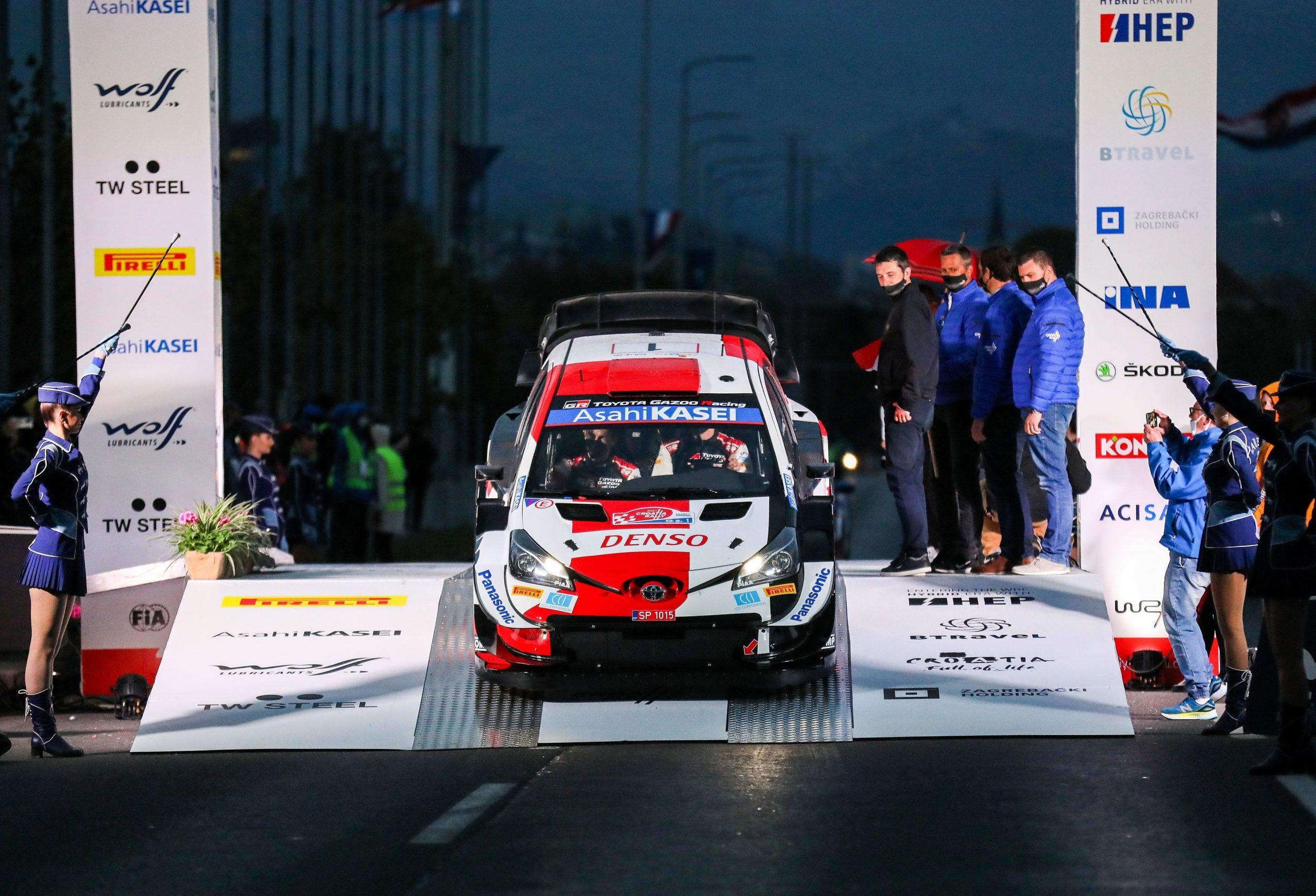 Sebastien Ogier i Julien Ingrassia (Toyota Gazoo Racing)/Foto PIXSELL