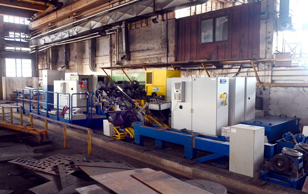 Veliko postrojenje s oko 50 tona materijala, odnosno dijelova trebalo je rastaviti i transportirati / Snimio Vedran KARUZA
