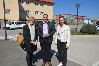 Podršku Nezavisnoj listi Nenada Vidmara dale su Iva Rinčić i skijašica Leona Popović / Foto M. KRMPOTIĆ
