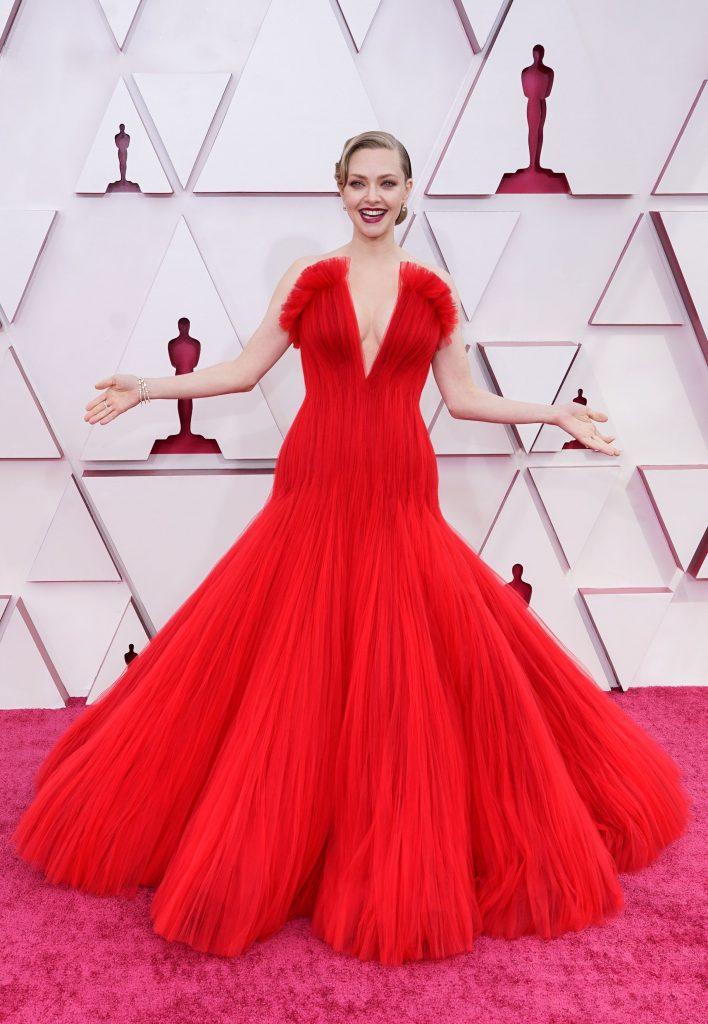 Amanda Seyfried u haljini Armani Prive / Reuters