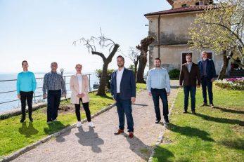 Bojan Simonič i suradnici / Foto Luigi