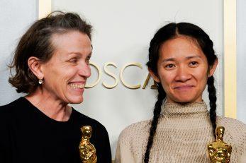 Frances McDormand i Chloe Zhao, glumica i redateljica, ujedno i producentice, dobile su svaka po Oscara, prva za glumu, druga za režiju, ali i kao producentice za najbolji film / Reuters