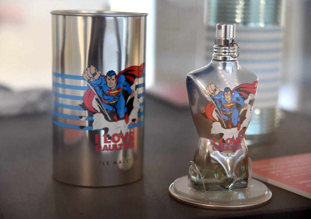 Superman na parfemu Jeana Paula Gaultiera / Snimio S. DRECHSLER