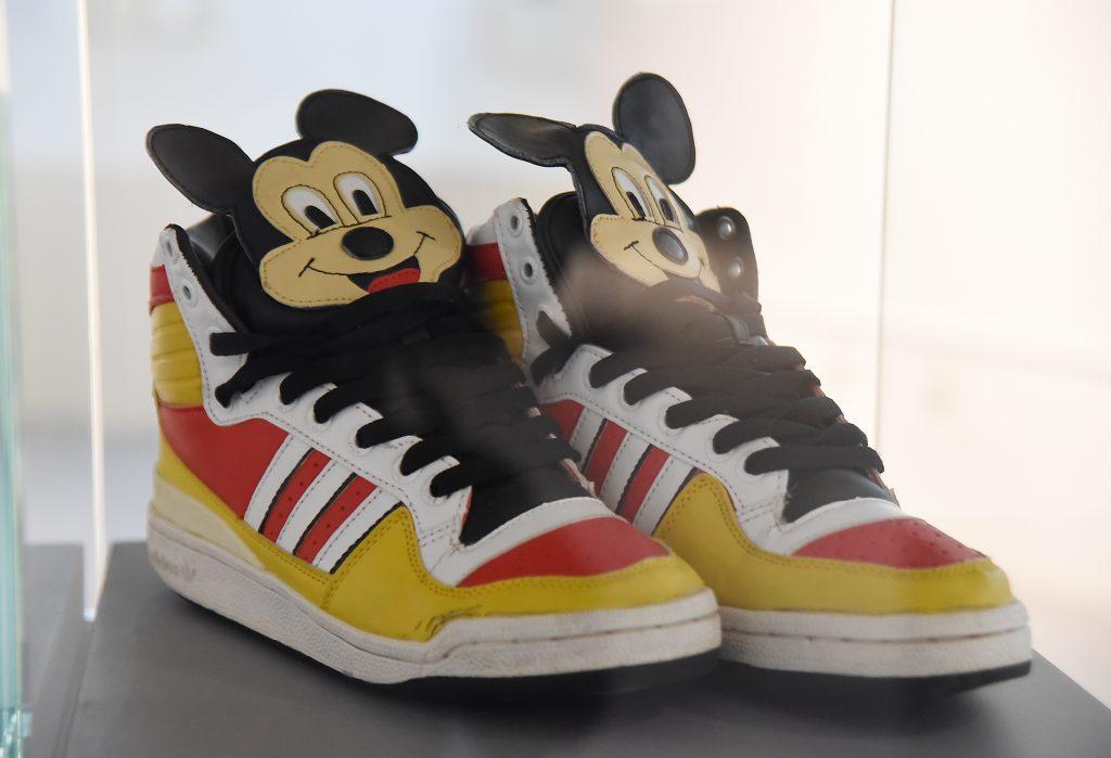 Mickey Mouse na tenisicama / Snimio S. DRECHSLER