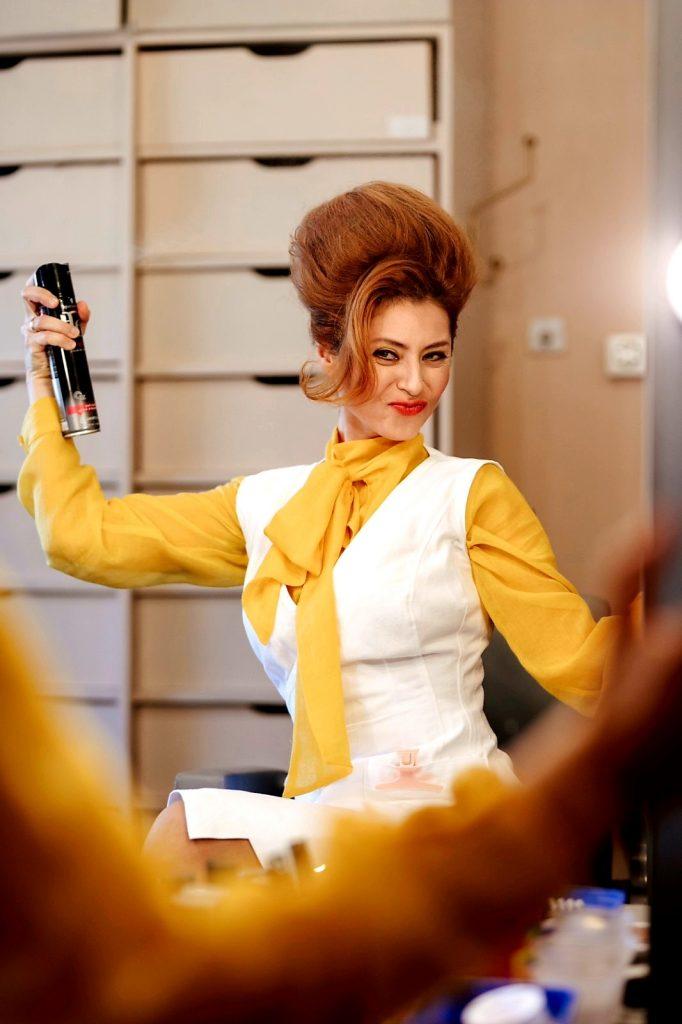Judita Franković Brdar kao Patricija u »Čeličnim magnolijama« / foto KARLO ČARGONJA