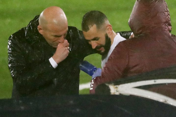Zinedine Zidane i Karim Benzema/Foto REUTERS