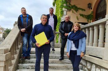Damir Rukavina i Ivona Matošić Gašparović s čelnicima koalicijskih stranaka