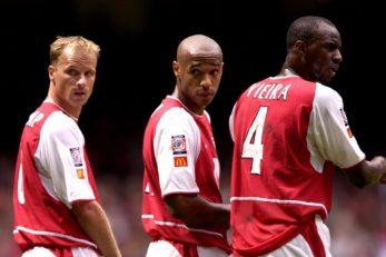 Dennis Bergkamp, Thierry Henry i Patrick Viera