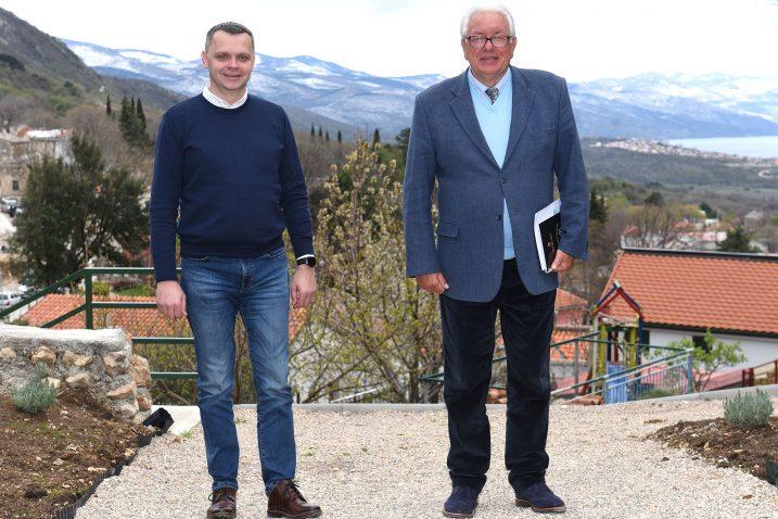 Zajednički prionuli realizaciji jiza projekata - načelnik Marijan Karlić i njegov zamjenik Daniel Grbić
