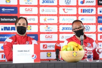 Ivano Balić i Hrvoje Horvat/Foto: PIXSELL