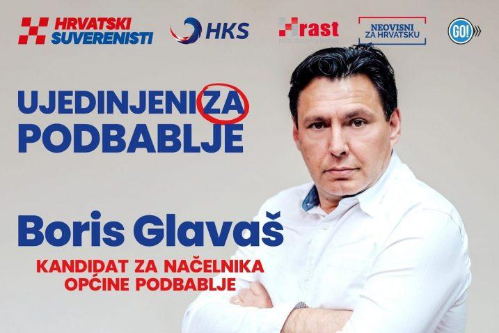 Boris Glavaš / Foto Screenshot Facebook Hrvatski suverenisti Podbablje
