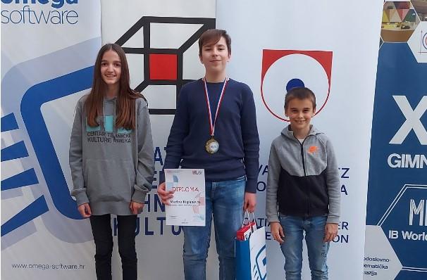 Marta Ljubić, Marin Kupanovac i Patrik Klovar Lukarić