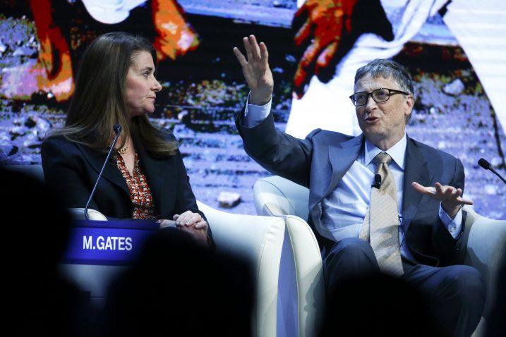 Melinda i Bill Gates pričaju o svojoj viziji budućnosti u Davosu / Foto Reuters