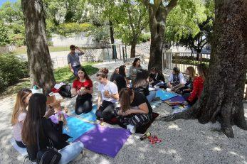 Učenici u projektu »p. s. Pokreni solidarnost« / Foto Facebook Moje mjesto pod suncem