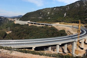Dionica autoceste Hreljin-Križišće snimljena pred završetak radova / Foto arhiva NL