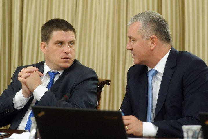 HDZ puno očekuje od ovih lokalnih izbora - Oleg Butković i Darko Horvat / NL arhiva