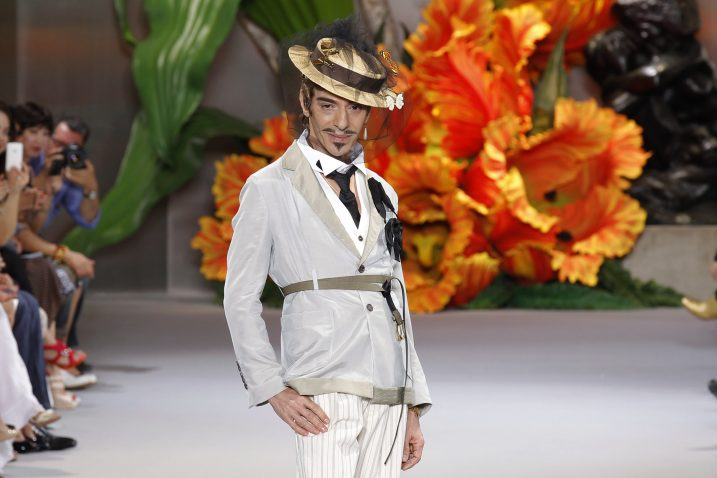 Foto: Dizajner John Galliano za Dior, 2010/2011, REUTERS