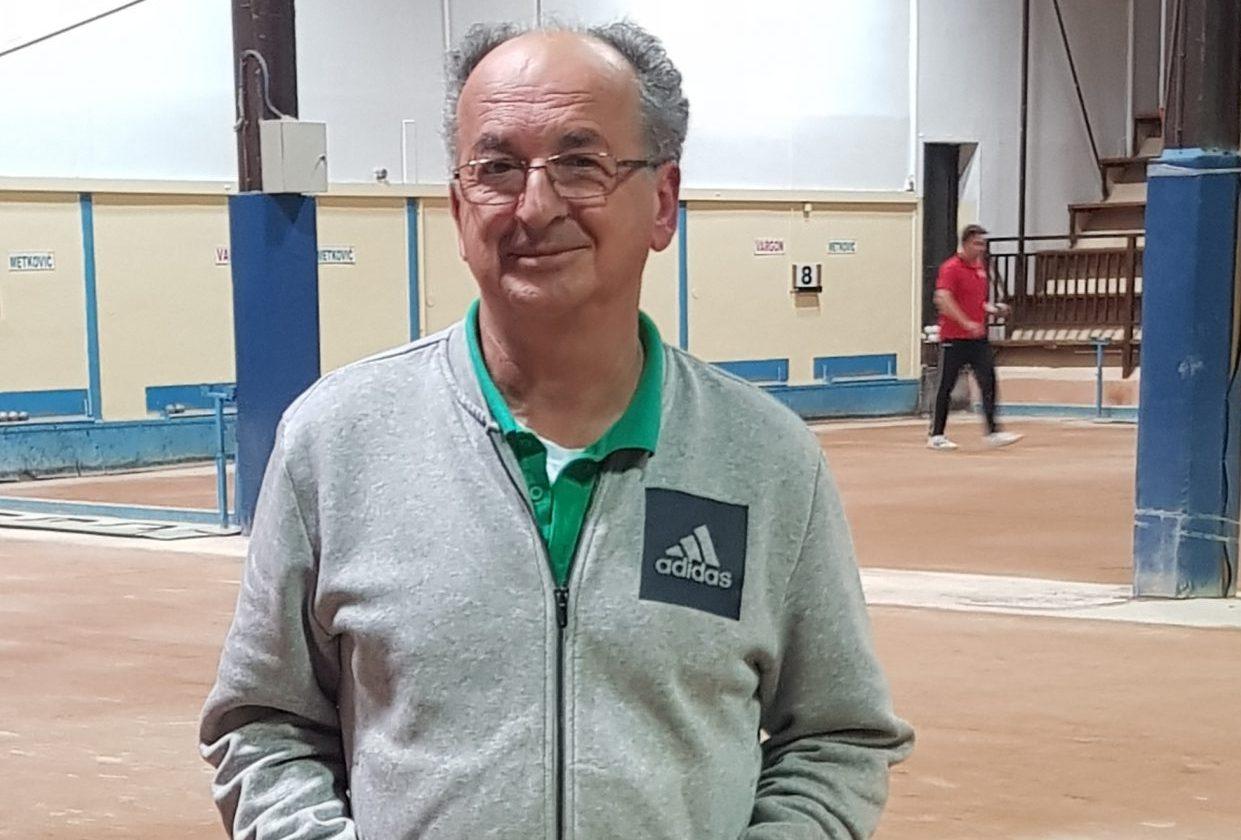 Čedo Vukelić, trener Vargona/Foto Arhiva NL